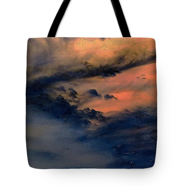 Fire In The Hills Tote Bag
