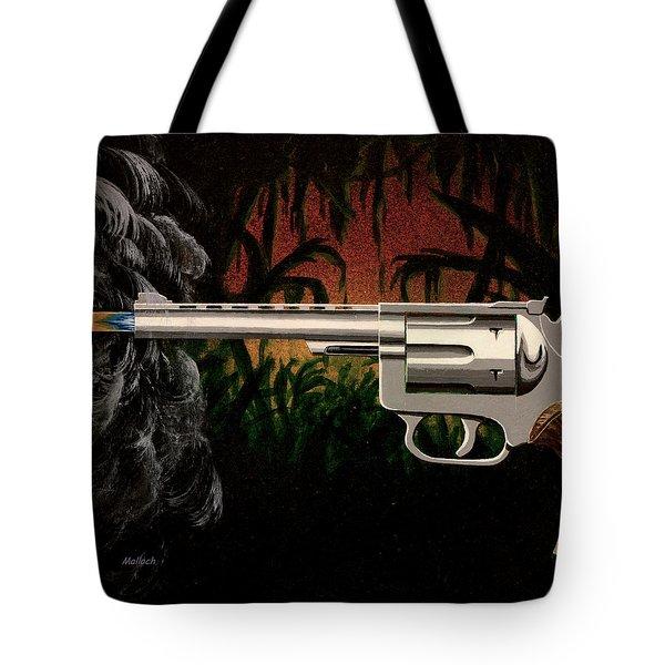 Fire In The Jungle Tote Bag