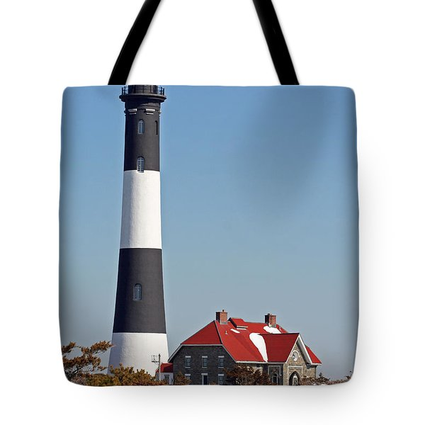 Fire Island Snow Tote Bag