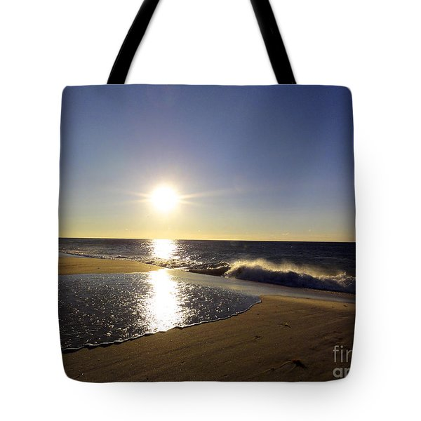 Fire Island Sunday Morning - 13 Tote Bag