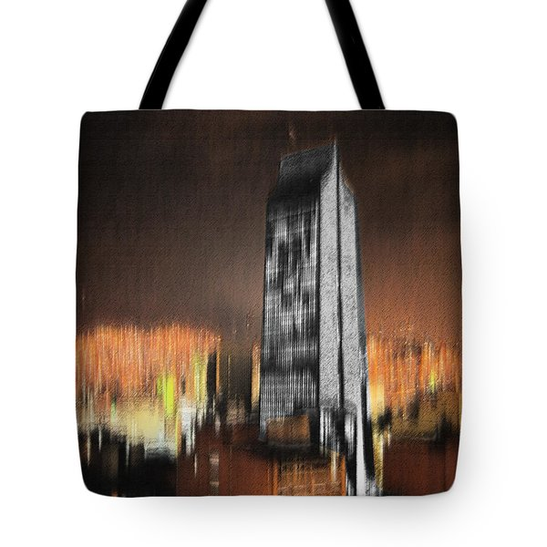 Fire Of Babylon Tote Bag