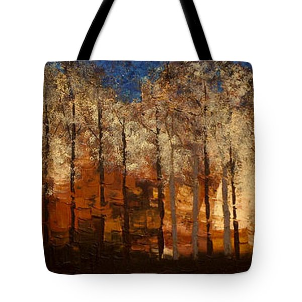 Fire On The Mountain Tote Bag by Linda Bailey