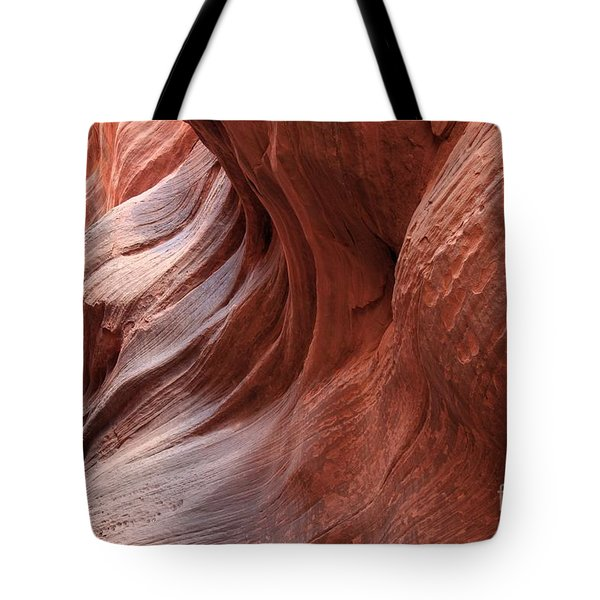 Fire On The Walls Tote Bag