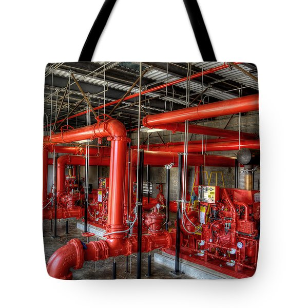 Fire Pump Tote Bag