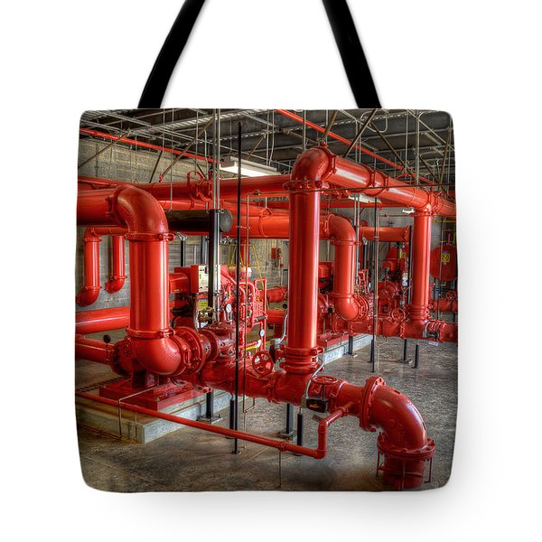 Fire Pump Room 2 Tote Bag