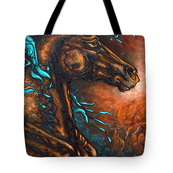 Fire Run Tote Bag