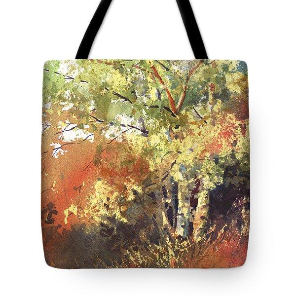 Fire Season Tote Bag