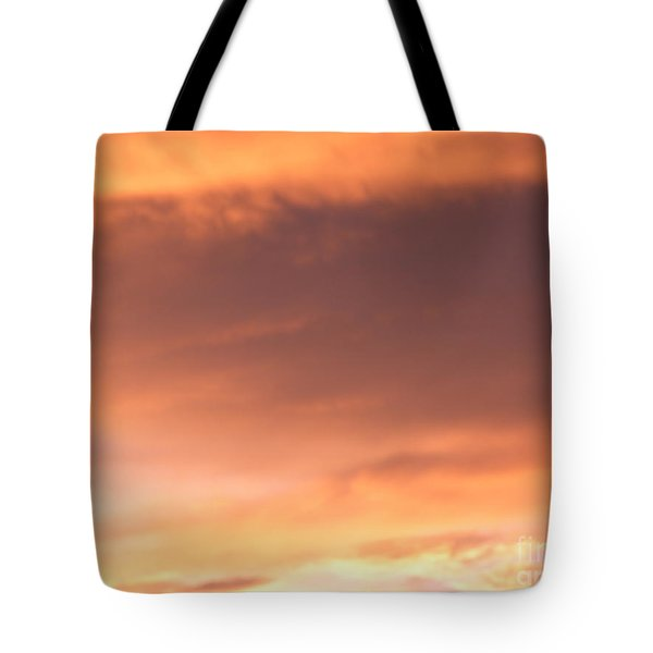 Fire Skyline Tote Bag