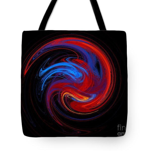 Fire Sphere Tote Bag by Andee Design