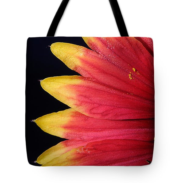 Tote Bag featuring the photograph Fire Spokes by Paul Rebmann