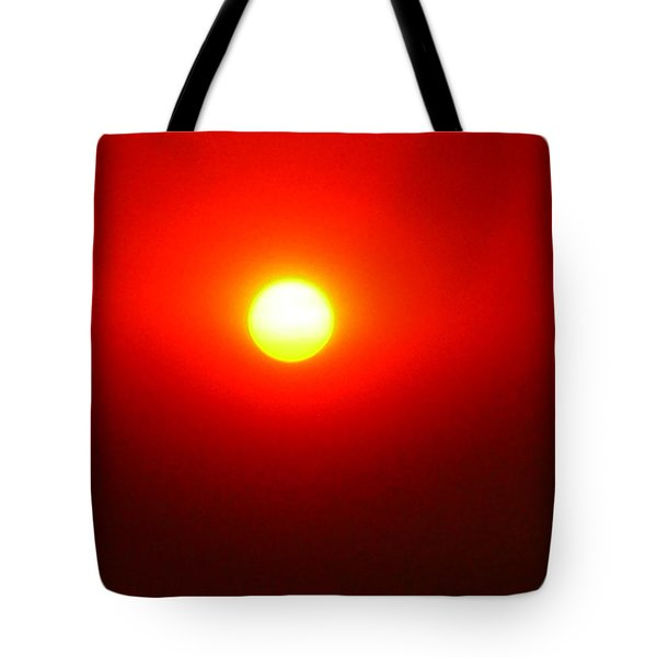 Fire Sun Tote Bag by Julia Ivanovna Willhite