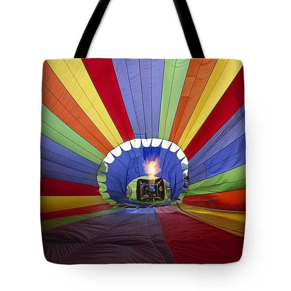 Fire The Balloon Tote Bag by Martin Konopacki