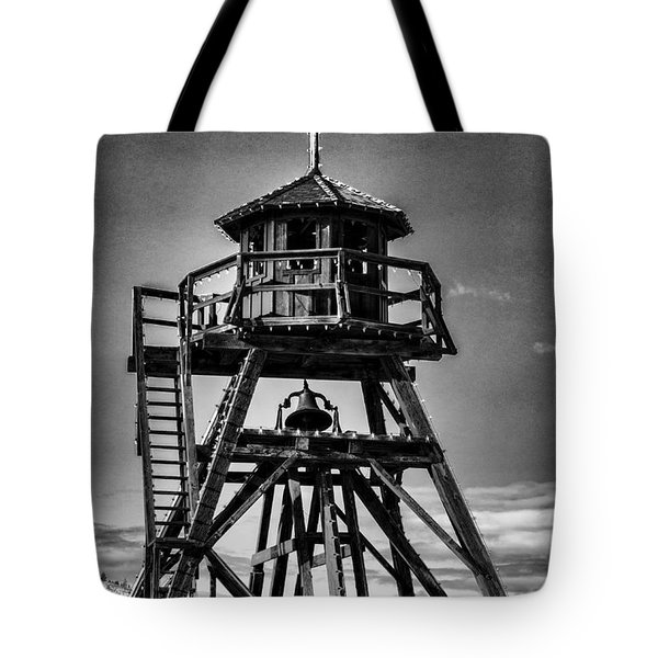 Fire Tower 2 Tote Bag by Fran Riley