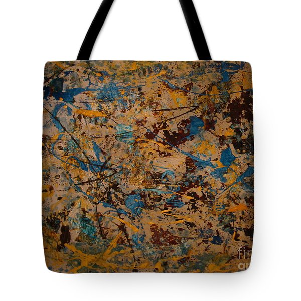 Fire Work Tote Bag