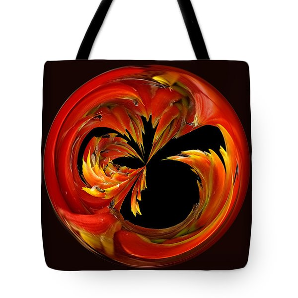 Fireball Orb Tote Bag