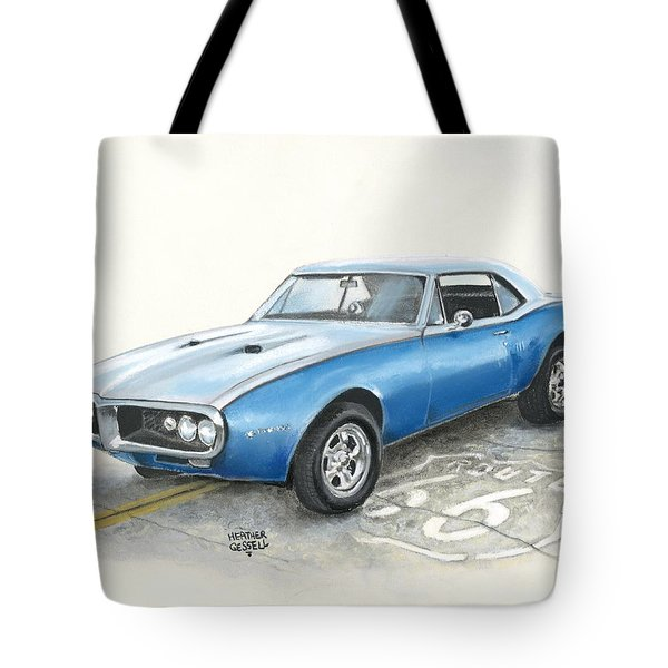 Firebird Tote Bag by Heather Gessell