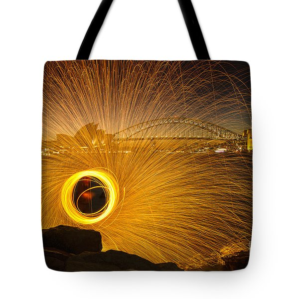 Fireflies Tote Bag by Andrew Paranavitana