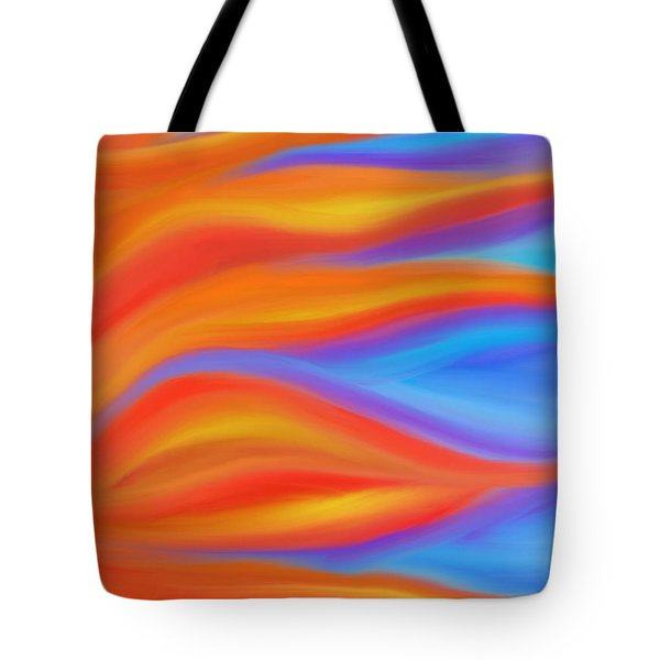 Firelight Tote Bag by Daina White