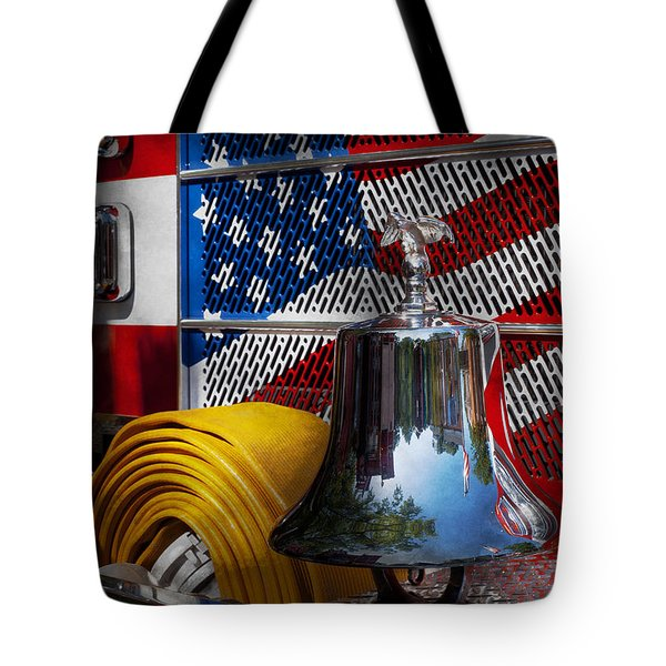 Fireman - Red Hot  Tote Bag