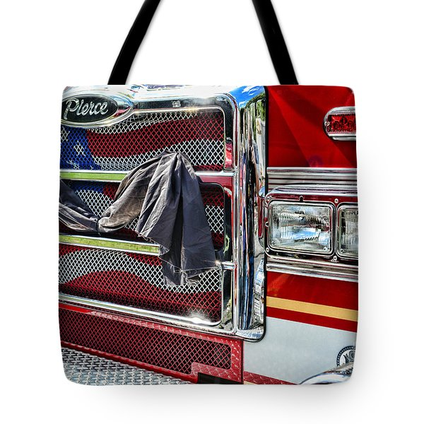 Fireman - Remembering Fallen Heroes Tote Bag by Paul Ward