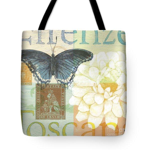 Firenze Tote Bag by Debbie DeWitt