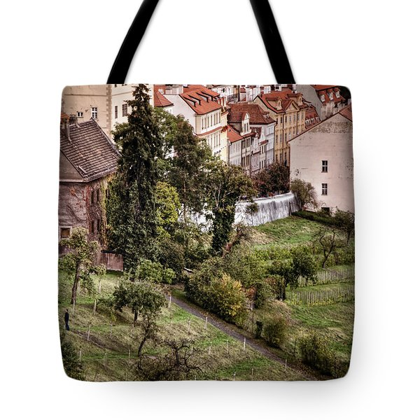 Firenze In Prague Tote Bag by Joan Carroll