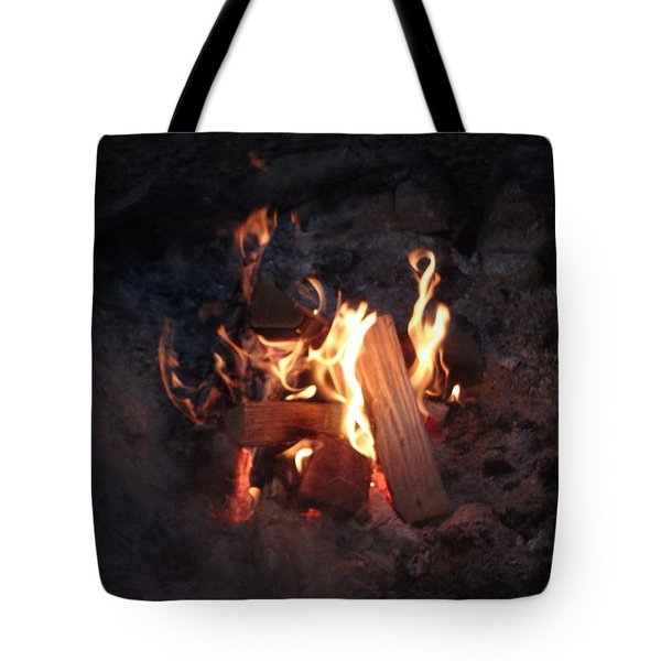 Fireside Seat Tote Bag by Michael Porchik