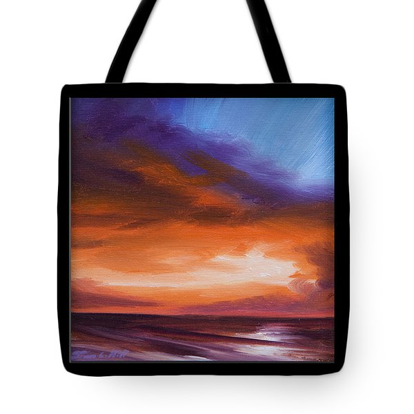 Firesun Sky Tote Bag by James Christopher Hill
