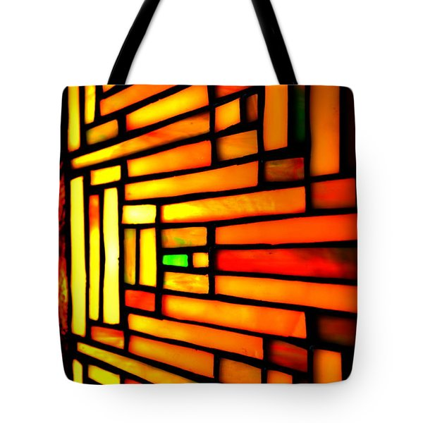 Firewall Tote Bag by Newel Hunter