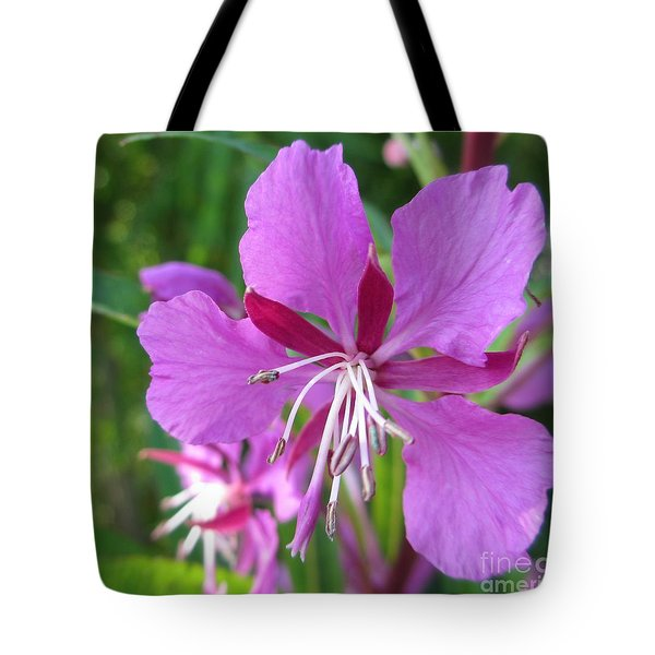 Fireweed 1 Tote Bag by Martin Howard