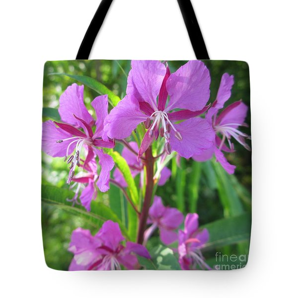 Fireweed 3 Tote Bag by Martin Howard