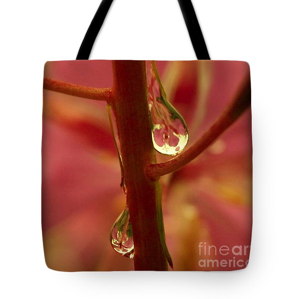 Fireweed Tote Bag by Crystal Magee