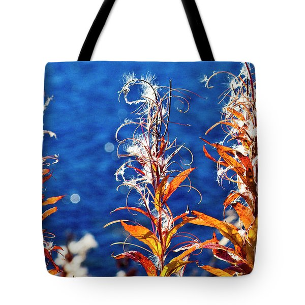 Fireweed Flower Tote Bag
