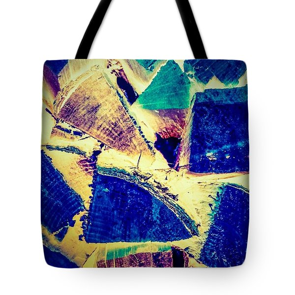 Firewood  Tote Bag by William Wyckoff