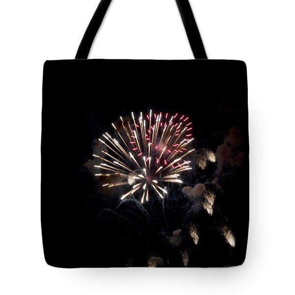 Fireworks At Night Tote Bag