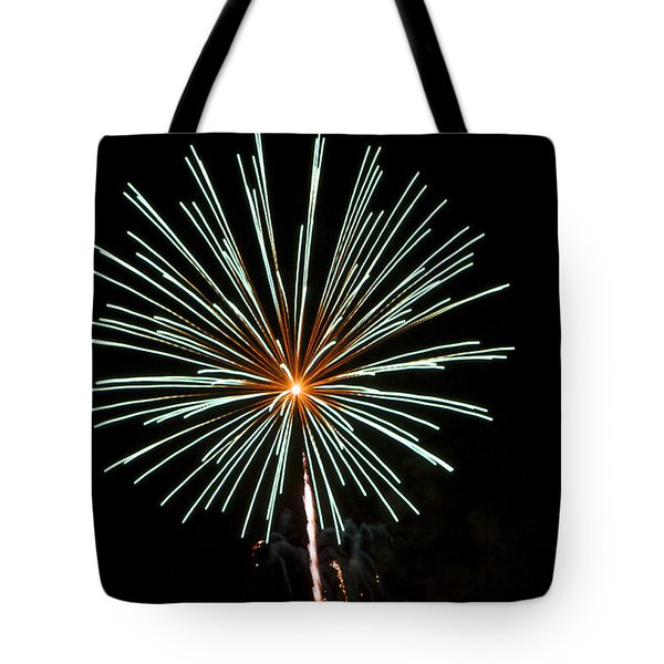 Fireworks Bursts Colors And Shapes 2 Tote Bag by SC Heffner