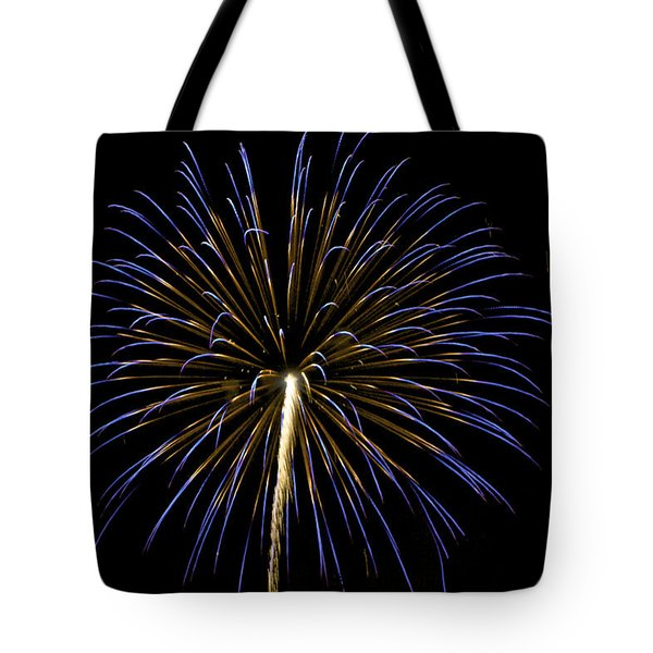 Fireworks Bursts Colors And Shapes 3 Tote Bag