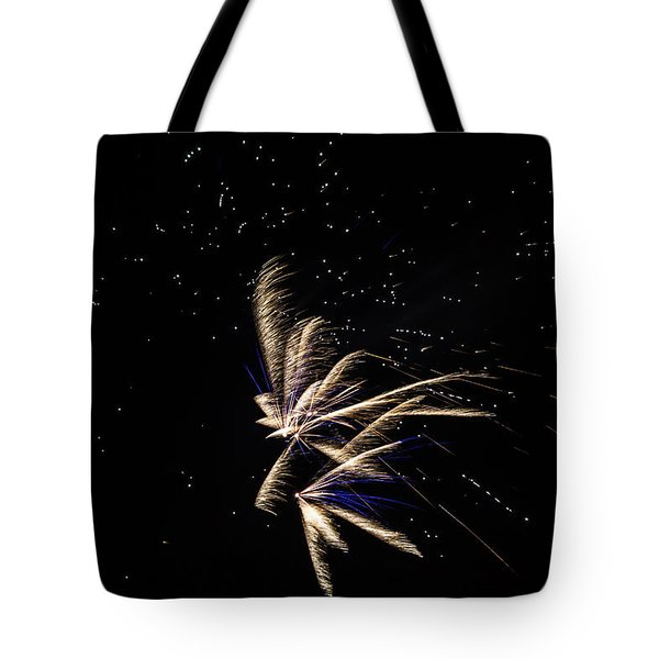 Fireworks - Dragonflies In The Stars Tote Bag