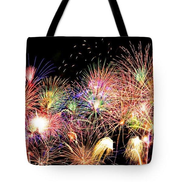 Fireworks Finale Tote Bag