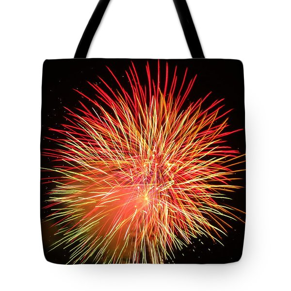 Fireworks  Tote Bag by Michael Porchik