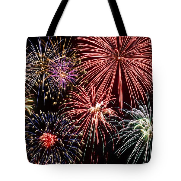Fireworks Spectacular IIi Tote Bag