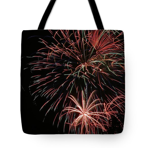 Fireworks6525 Tote Bag by Gary Gingrich Galleries