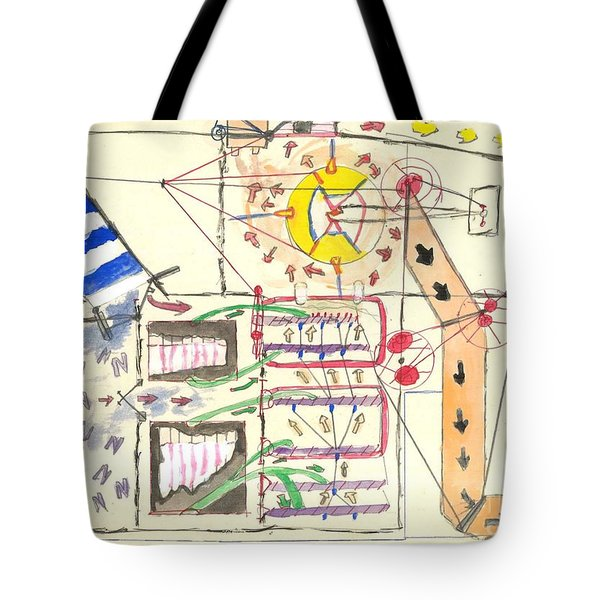 First Abstract Tote Bag