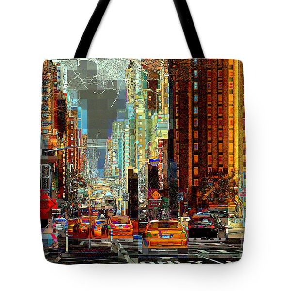 First Avenue - New York Ny Tote Bag