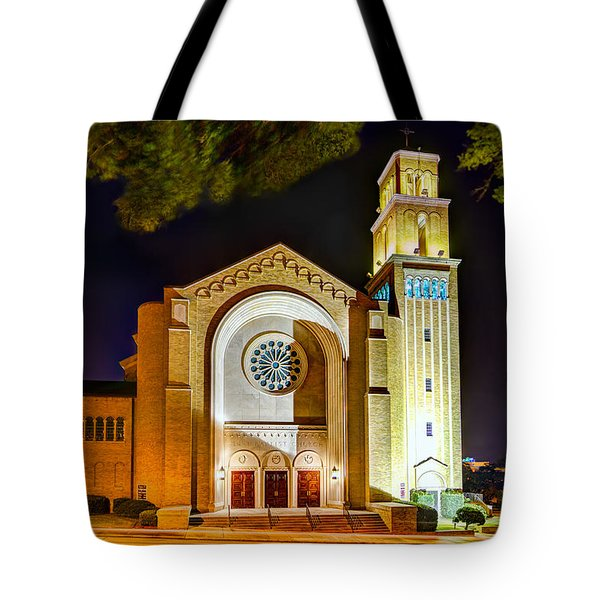 First Baptist Church Of Pensacola Tote Bag