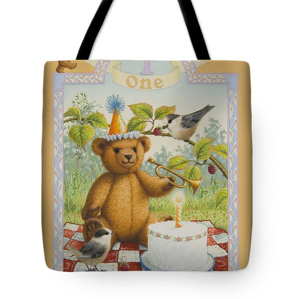 First Birthday Tote Bag