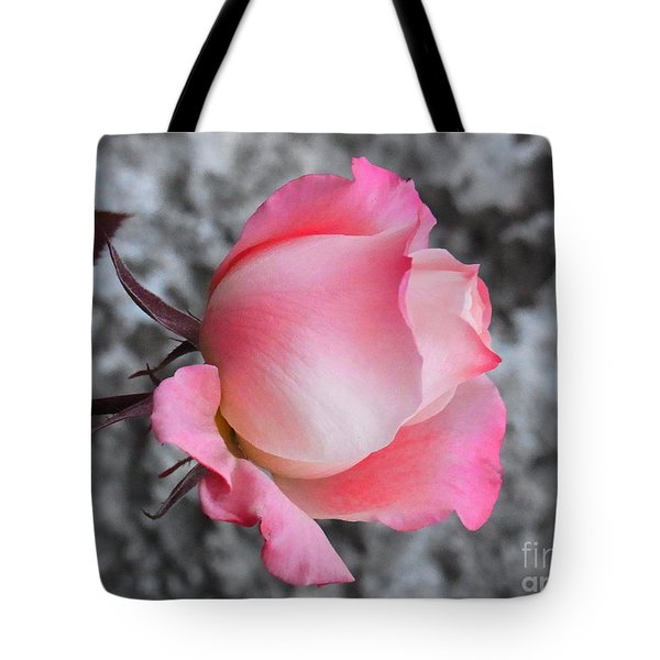 First Blush Tote Bag by Agnieszka Ledwon
