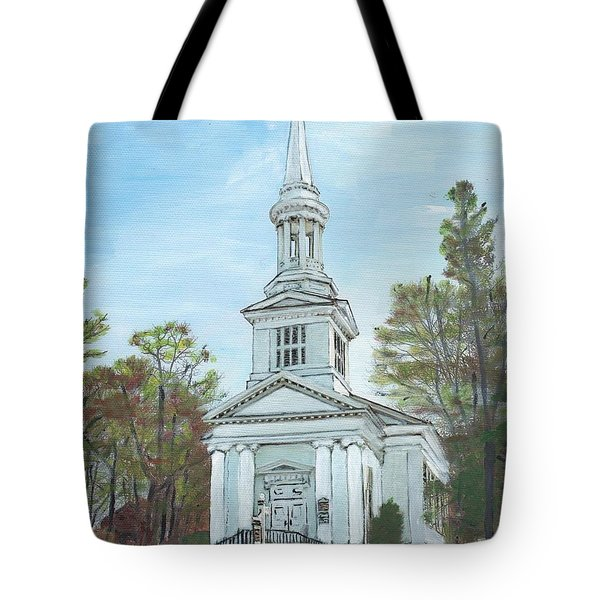 First Church Sandwich Ma Tote Bag