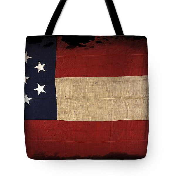 First Confederate Flag Tote Bag