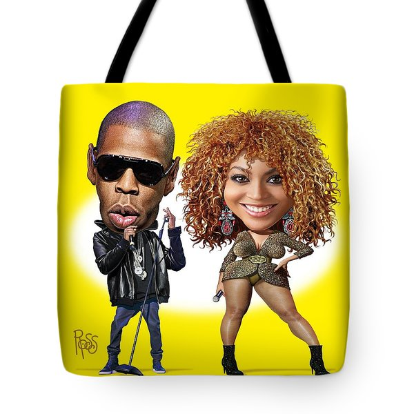 First Couple Tote Bag by Scott Ross